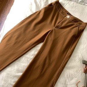 Zara wide leg crop